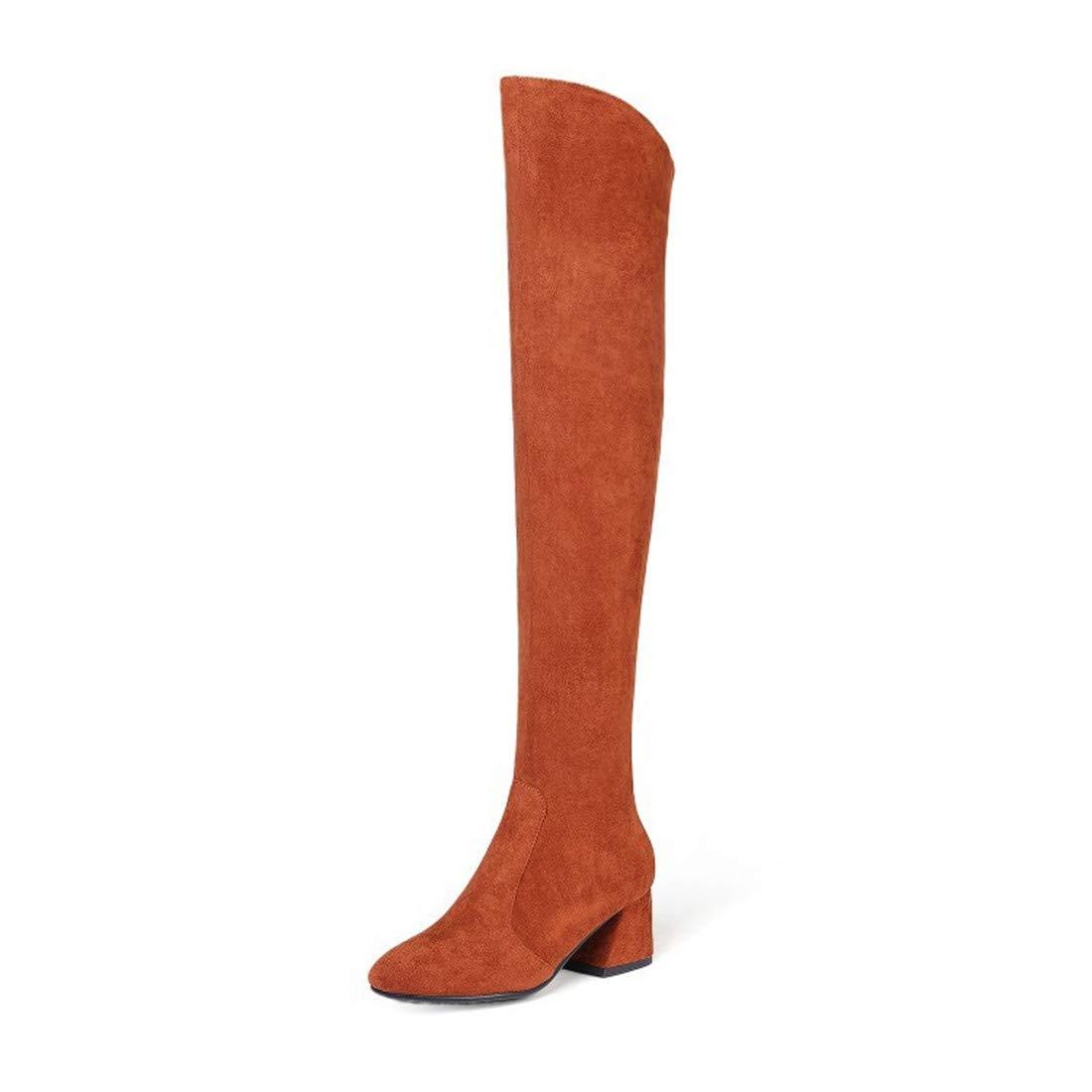 Sandalette-DEDE Lady Rider Bottes, Grosses Bottes des et des Bottes avec des Bottes Bottes. 36|caramel colour cf2d9e