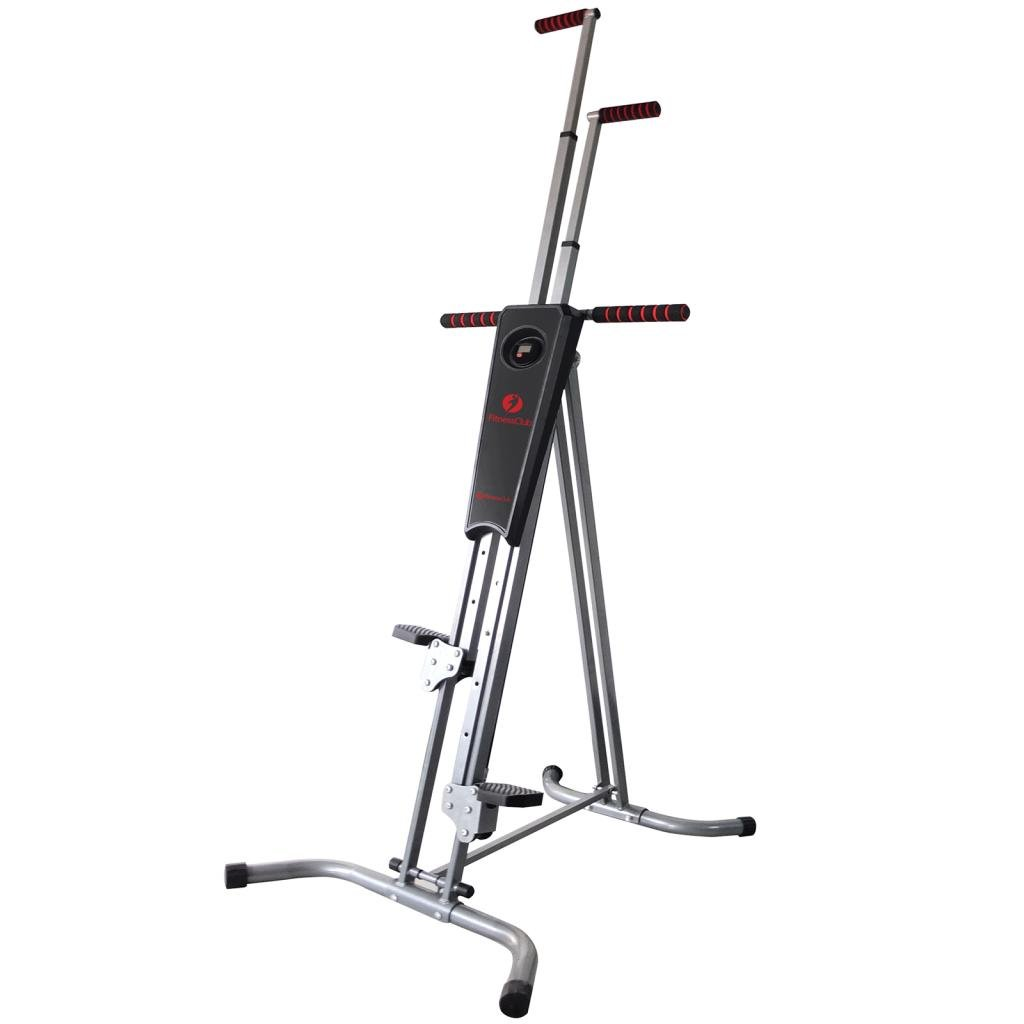 Fitnessclub Vertical Climber Exercise Climbing Machine Home GYM Equipment Stepper Cardio Fitness Total Body Workout fitness climber by Fitnessclub