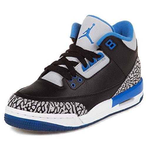 Jordan Nike Kids Air 3 Retro Bg Basketball Shoe
