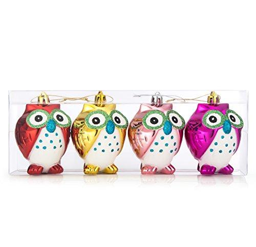 4 Pack Ornament Set - 7