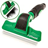 Image of K9KONNECTION The FURbeast Deshedding Tool & Pet Grooming Brush for Small, Medium and Large Dogs or Cats with Long or Short Hair - Effectively Reduces Undercoat Shedding by 90% with 4 inch Blade
