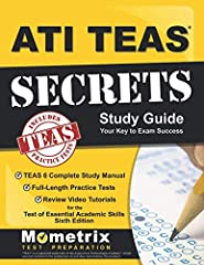 ***The Only Guide with 3 Complete Practice Tests and 73 Step-By-Step Tutorial Videos***              Mometrix Test Preparation's ATI TEAS Secrets Study Guide is the ideal prep solution for anyone who wants to pass their Test o...