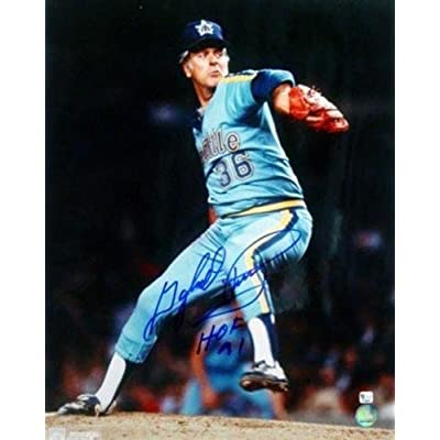 1236f1993b8 Gaylord Perry Autographed Signed 16x20 Photo Mariners hof 91