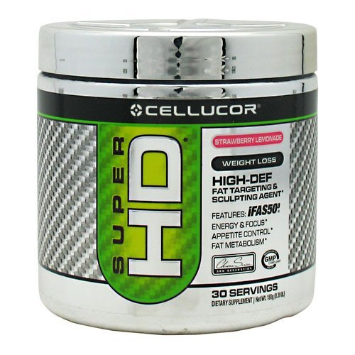 Cellucor Super HD Strawberry Lemonade 30 Servings (Cellucor Hd Super)