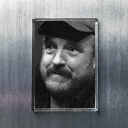 JIM BEAVER - Original Art Fridge Magnet #js002