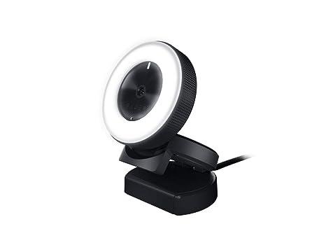 Razer kiyo telecamera da scrivania con illuminazione per streamer