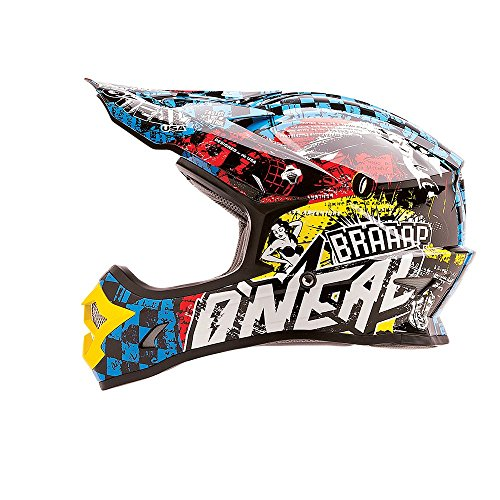 O'neal 3 Series Wild Motocross Enduro MTB Helm multi 2016: Größe: L (59/60 cm)
