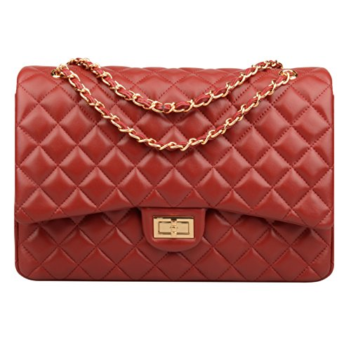 Quilted Leather Handbags - 2