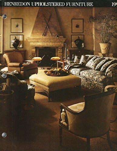1994 Henredon Upholstered Furniture Catalog (Henredon)