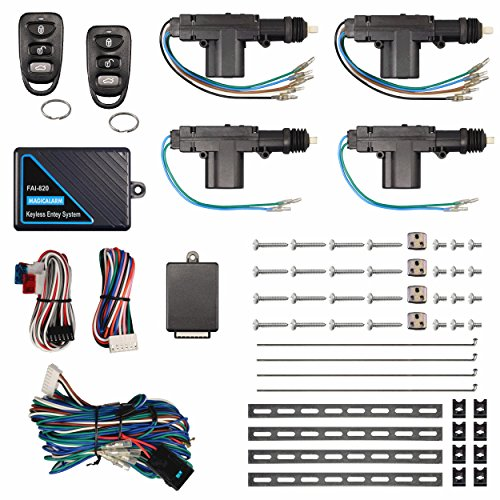 Remote Keyless Entry System 4 Door Power Lock Heavy Duty Actuator