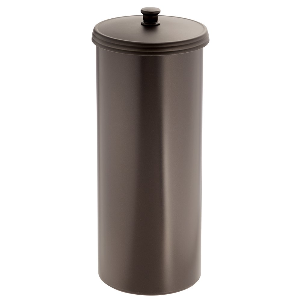 toilet holder paper tissue bathroom roll bronze canister
