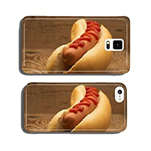 Tasty hot dog cell phone cover case iPhone5