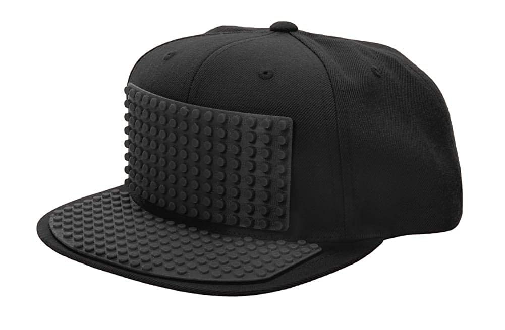 4ca5ec840bf Amazon.com  elope Black Bricky Blocks Baseball Hat  Clothing