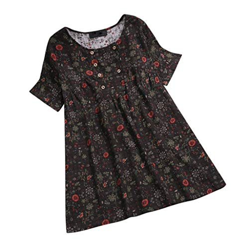 (YOcheerful Women Shirt Long Sleeve Tunic Tops Casual Plus Size T-Shirt Blouse Tee Polo Jumper Henley(Z1-Dark Gray,)