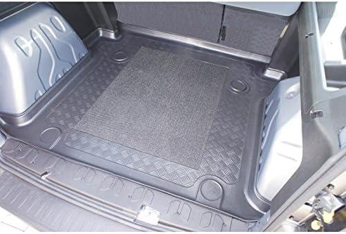 ZentimeX Z746644 Vasca baule su misura con superficie scanalata e integrato tappeto antiscivolo