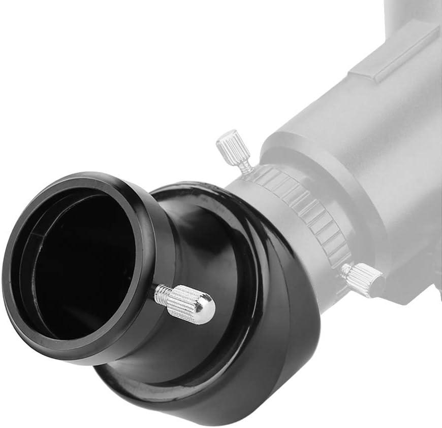 45-Degree Diagonal Mirror 31.7mm Plastique Erect Image Diagonal Mirror Adapter for 1.25inch Telescope Eyepiece and focuser