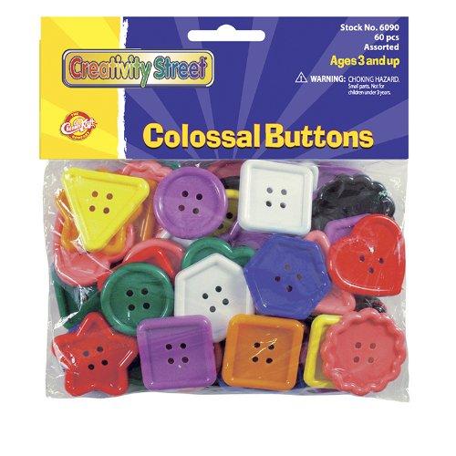 Chenille Kraft CK-6090 Colossal Buttons Assortment, 5.88
