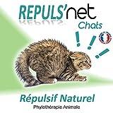 REPULS'NET - Spray Répulsif Chat 100% Naturel 250 ml
