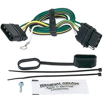 com wesbar way flat extension harness feet automotive hopkins 47105 4 wire flat extension ground 32 length