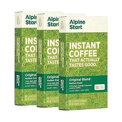 Alpine Start Premium Instant Coffee Packets