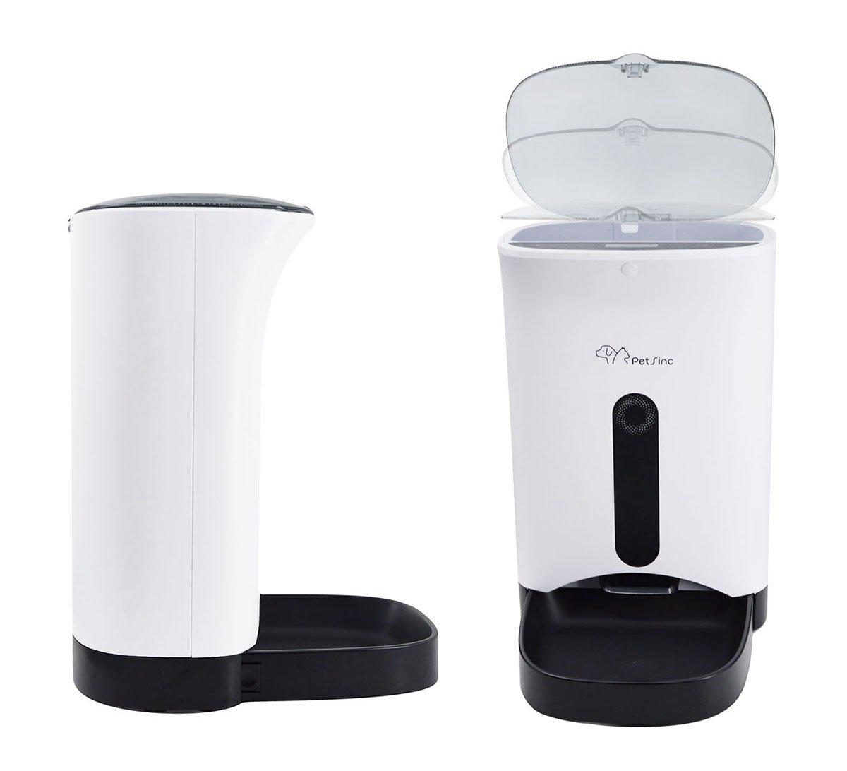 Comedero automático para mascotas con grabación de voz y programable por solo 92,88€