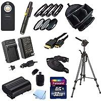 Digital SLR Photography Starter Acessory Kit for Nikon D7000, D7100, D600, D610, D800 and D800E