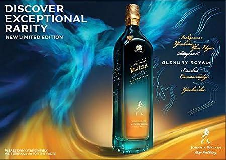 Johnnie Walker Blue Label Ghost & Rare Glenury Royal Whisky Escocés de mezcla - 700 ml