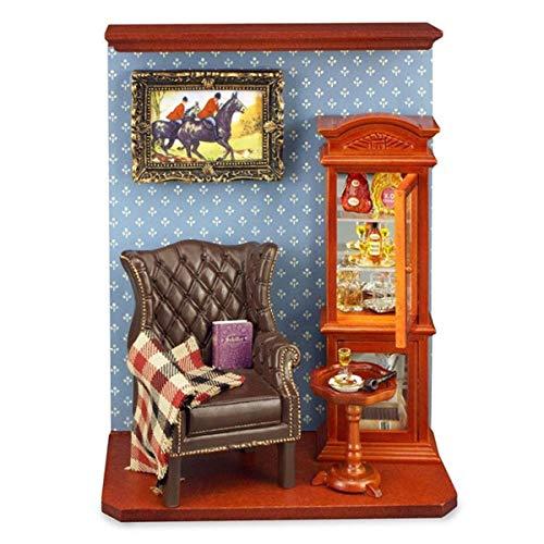 M.W. Reutter - Room Box Gentlemen's Room Reutter Porzellan
