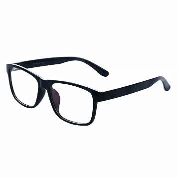7a3de935cc2f HUIHUIKK Black +1.50 Bifocal Reading Glasses Mens D Shape Bifocals with  line Black Bifocal Readers