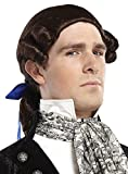 Costume-Wig Ponytail Bow Wig Brown Halloween Costume - 1 size