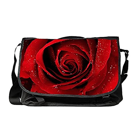 Royal Lion Laptop Notebook Messenger Bag Red Rose - Pansy Messenger