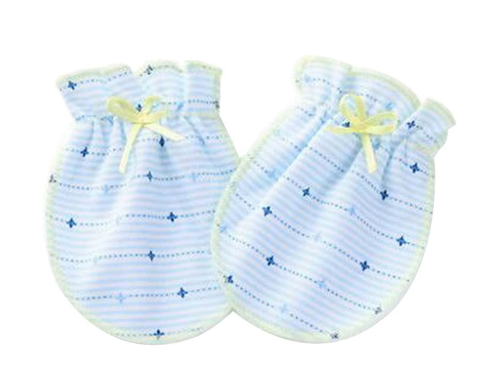 Amazon.com: [S] 3 Pairs Newborn Baby Mittens Infant No Scratch ...
