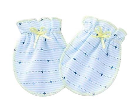 S] 3 pares de mitones para bebés recién nacidos Manoplas sin algodón ...