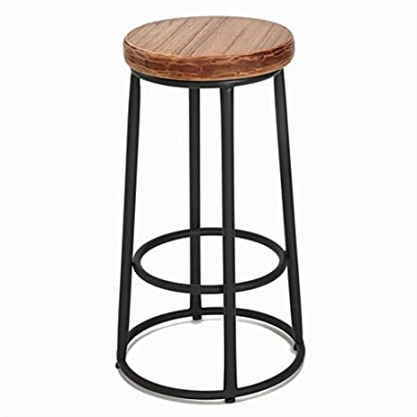 Amazon.com: ZXMDMZ Bar Stools High Restaurant Cafe Chair ...