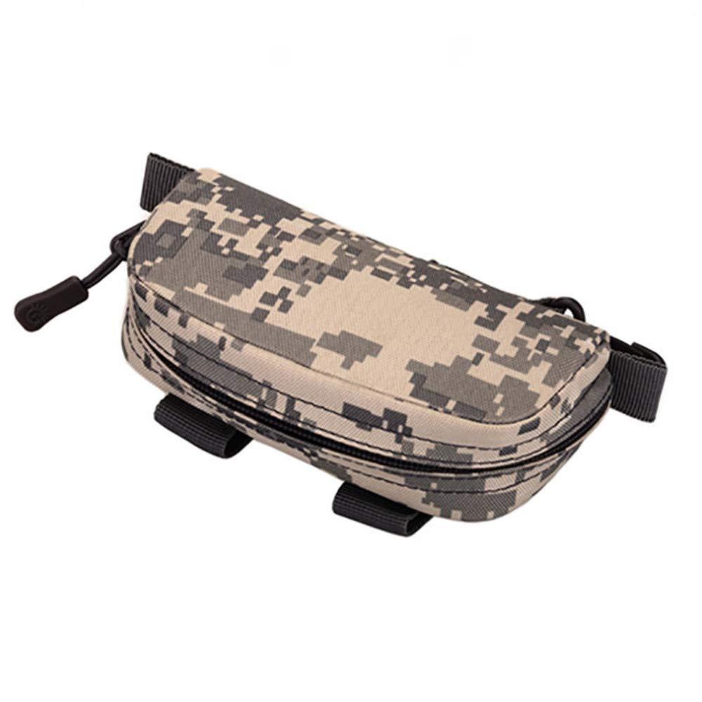 XUELIEE Protector Plus Gafas de Camuflaje Militar T/áctico Bolsa Mini Bolsa de Almacenamiento Cintur/ón de Cadera de Nylon con Cadera Paquete