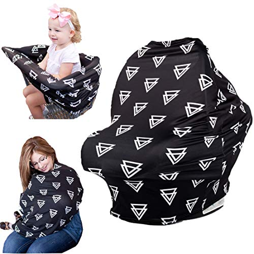 Baby Car Seat Covers Nursing Cover For Protecting Boys Girls Privacy Breastfeeding Multi Use Canopy Stroller Shopping Cart Light Blanket Best