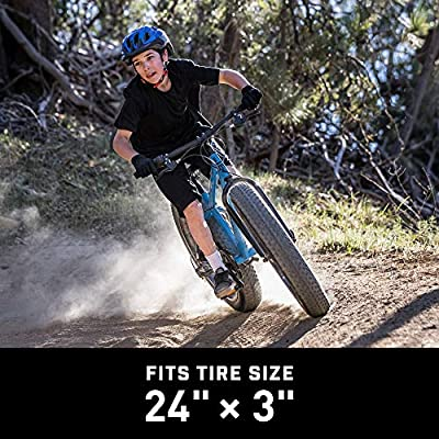 Bicycle Tube for Fat Tire Bikes Schrader Valve Multiple Sizes Heavy duty rubber