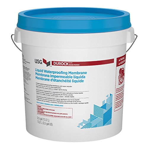 USG DUROCK BRAND LIQUID WATERPROOFING MEMBRANE 3-1/2 GALLON