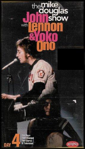 Lennon John & Yoko Ono-Mike Douglas Show Day 4 [VHS]
