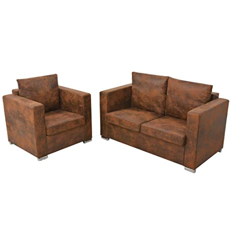 Tidyard- Conjunto de sofás,Sofá Moderno,Incluye 1 sillón 82 ...