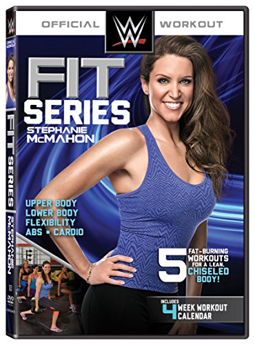 Wwe Fit Series  Stephanie Mcmahon  Dvd