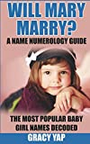Will Mary Marry? A Name Numerology Guide: The