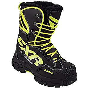 Amazon.com: FXR X-Cross Snowmobile Snow Winter Boots w