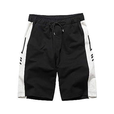 Pantalon Corto Hombre Deporte - Logobeing Moda Cintura Media Slim ...