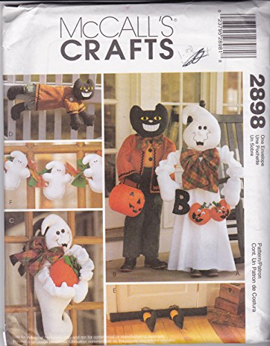 (McCall's 2898 Sewing Pattern Crafts Halloween)