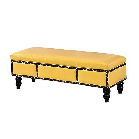 Surprising Amazon Com Retro Faux Leather Folding Storage Ottoman Bench Inzonedesignstudio Interior Chair Design Inzonedesignstudiocom