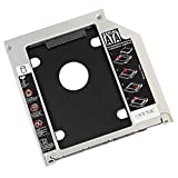 "ESYNiC SATA 2.5"" / 9.5mm 2nd Hard Drive Caddy Tray for Apple Unibody MacBook / MacBook Pro 13 15 17 SuperDrive DVD Drive Enhance Your Data Storage"