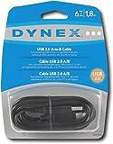 Dynex - 6' USB 2.0 A/B Cable DX-C114194