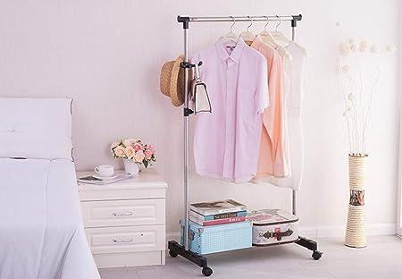 QI_W Percheros Perchero Simple Ensamblaje de estantes ...