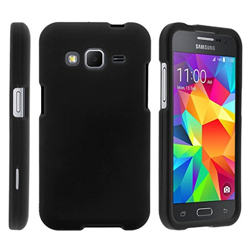 TurtleArmor | Compatible for Samsung Galaxy Core Prime Case | Prevail | Win 2 [Slim Duo] Slim Fit Compact Hard Protector Snap On Case on Black Music Design - Black (Samsung Galaxy Prevail Cases)